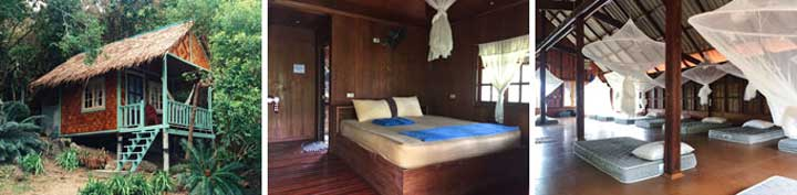 accommodation Thailand yoga retreat