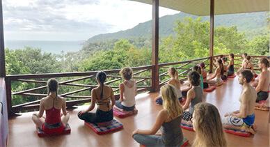 thailand yoga shala