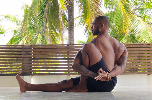 Aaron Wickramasekara Yoga Teacher