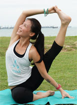 Yoga Teacher Wendy Chan