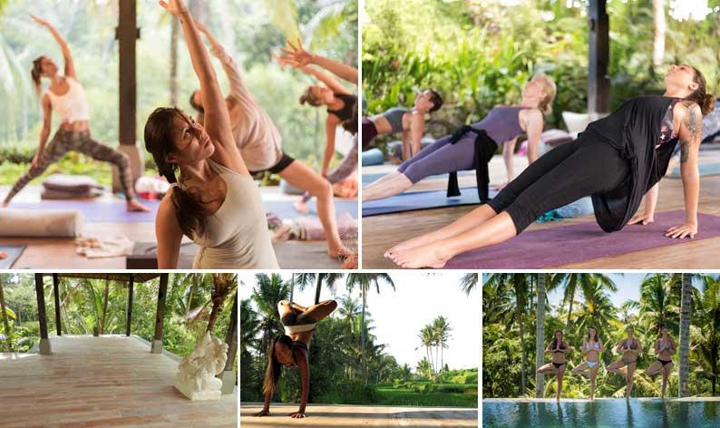 Yoga shala Bali retreat