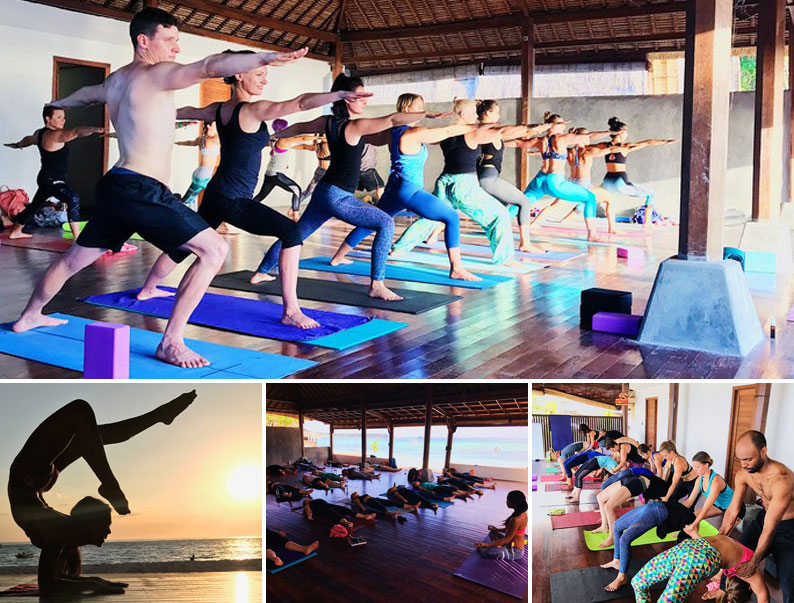 yoga shala retreat bali