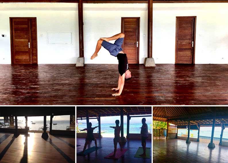 yoga shala retreat bali