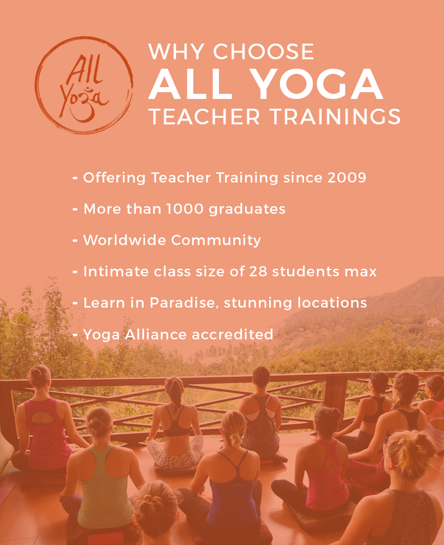 why choose allyoga teacher trainings