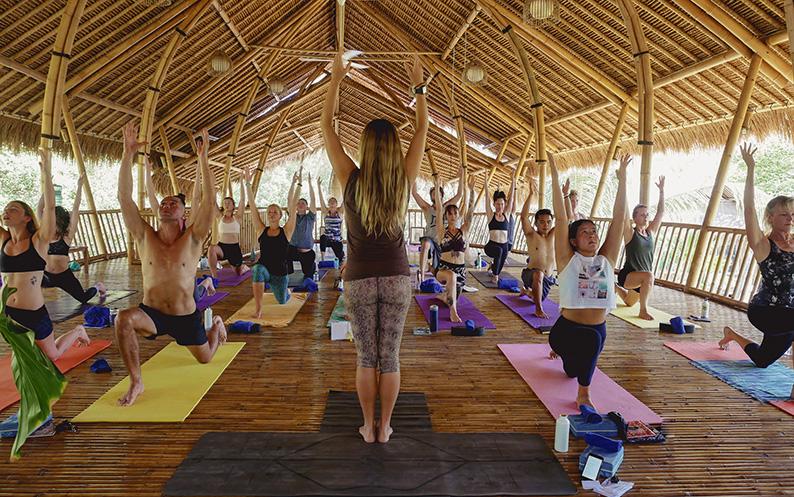 exhale yoga retreat