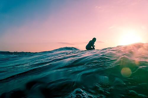 surfing activity