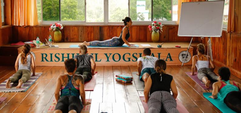 Rishikul Yogshala Yoga