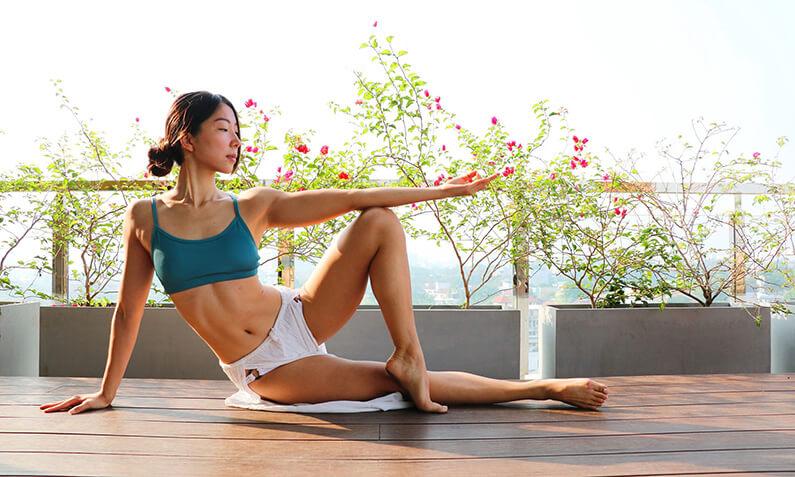 annie au yoga